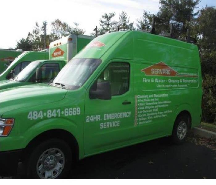 Why SERVPRO Do You Known Why SERVPRO Trucks are Green?